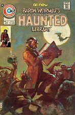 HAUNTED LIBRARY (1971) - # 21-32 SET/LOT (CHARLTON COMICS, HORROR) !!!