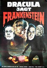 Dracula jagt Frankenstein Filmposter Assignment Terror Paul Naschy Karin Dor