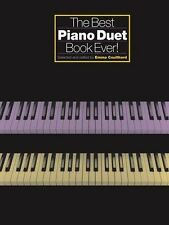The Best Piano Duet Book Ever! by Emma Coulthard Easy Grade 2-4 Sheet Music B50