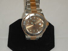 INVICTA W/ AUTOMATIC MAKE OFFER GORGEOUS SALMON DIAL RARE FIND!!