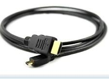 2MT Micro HDMI Type D HDMI Cable Type A cable connect Cemera Tablets etc To HDTV