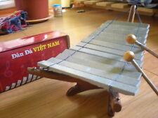 Fairtrade Vietnamesisch Stein Xylophon Dan da Holz Geschenkverpackung 1202