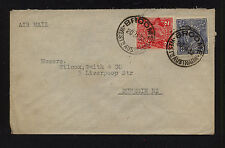 Australia 116,117 on cover to New Zealand 1933 Mm1206-3