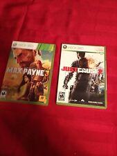 Just Cause 2 & Max Payne 3 Xbox 360 L@@k