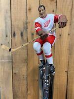 DETROIT RED WINGS Tap Handle Gordie Howe NHL HOCKEY Beer KEG White Jersey