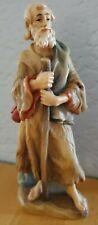 "New listing Anri Italy Bernardi 6"" Woodcarved Nativity Shepherd"