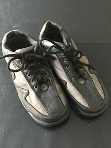 Dexter SST7 Mens Bowling Shoes Size 10.5 Black & Gray Leather