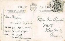 F. Wilkinson - Miss. Maria  Charters, How Mill, Carlisle 1908 BF274