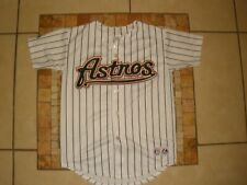 Youth Boys Kids Majestic Houston ASTROS Carlos LEE #45 SEWN Jersey USA MADE Med