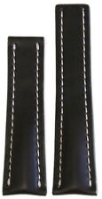 20mm RIOS1931 for Panatime Mocha Shell Cordovan Watch Band w WS For Breitling De