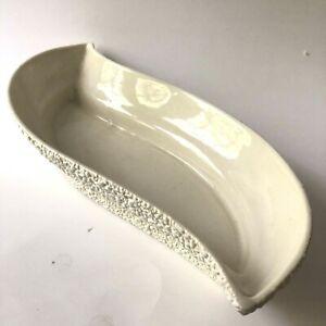 Vtg Romco Planter Rocky Mountain Pottery Speckled White Vase Mid Century Modern