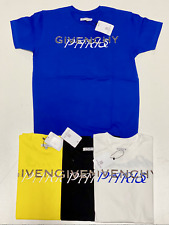 GIVENCHY PARIS MENS T SHIRT BRAND WITH TAGS NEW TEE SHIRT 100% COTTON