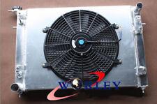 """Aluminum Radiator+Shroud+14"""" Fan For HOLDEN Commodore VN VG VP VR VS V6 3.8L"""
