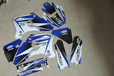 FLU DESIGNS PTS2 GRAPHICS YAMAHA WR250F WRF250 WR450F WRF450   2005  2006