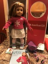 American Girl Doll of the Year Mia St. Clair - retired 2008 - Book Box Meet