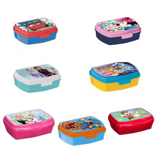 Brotdose Cars Frozen Minnie Maus Paw Patrol Lunchbox Frühstücksdose für Kinder