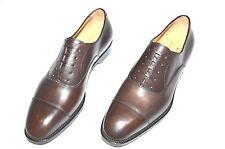 New PAOLO SCAFORA Dress Leather Luxury Shoes Size Eu 44 Uk 10 Us 11 Cod 7