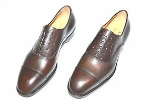 New PAOLO SCAFORA Dress Leather Luxury Shoes Size Eu 46 Uk 12 Us 13 Cod 7