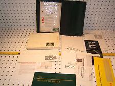Jaguar 1990 XJ6 Sovereign Handbook 1 set of 11 Manuals & Green JAGUAR OE 1 Pouch