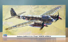 NEW Hasegawa 1/72 Junkers Ju88A-11 (A-4 Trop) North Africa 00867, Ships from USA