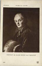 CPA Musée du Louvre F. BOUCHER - Portrait de Jeune femme (307783)