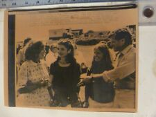Vintage Wire Press Photo-Eunice Shriver Birthday Jacqu Kennedy Onassis 7/12/1980