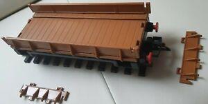 Playmobil für LGB Spur G - Niederbordwagen. Rungen abnehmbar