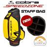 Cobra SPEEDZONE SZ Tour Staff Golf Bag 6-WAY Yellow/Black/Red - NEW! 2020
