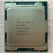 Intel Core i9-7980XE SR3RS 2.60GHz 18 Core 36 Threads LGA2066 CPU Processor