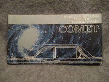 1960 Mercury Comet Dealer Sales Brochure Pamphlet Book Booklet C-60-101 K967