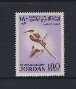Jordan - 1970, 180f Masked Shrike, Bird stamp - MNH - SG 930