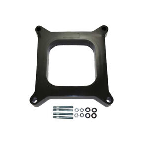 Proflow Carburettor Spacer 1in. Thick Phenolic/Plastic Open 4150