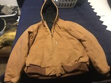 Carhartt Fleece Lined Thermal Jacket LARGE (L)
