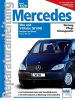 Mercedes Vito V Klasse W638 Reparaturanleitung Reparaturbuch Handbuch Buch Book