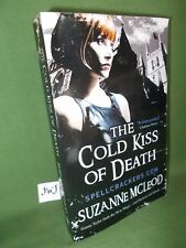 SUZANNE McLEOD THE COLD KISS OF DEATH UK PAPERBACK EDITION
