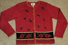 WOMENS SIZE S UGLY CHRISTMAS SWEATER BUTTONS COLD WEATHER HOLIDAYS BY COVE CREEK