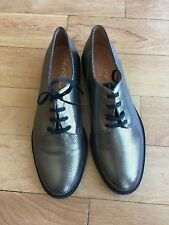 Robert Clergerie JAGO Oxford Lace-up Shoe 37.5  NEW w/o Box Retail $575-Elegant
