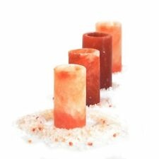 Himalayan Salt Shot Glass Set of 4, pure pink salt shots for Tequila lovers !!!