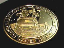 Apollo 11~Foot Prints on the Moon~Armstrong,Aldrin,Collins~Commemorative coin