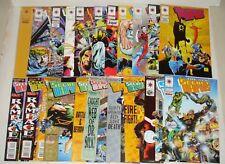 Secret Weapons 1-21 Complete Series Full Run 1993 Valiant Comics Vol 1