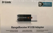 D-link DWA-140 Wireless Adapter Wifi Extender Booster N300 USB Connect Network d