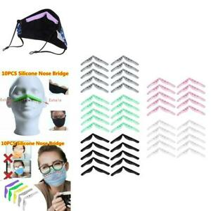 10PCS DIY Nose Bridge Pads Anti-Fogging for Face Cover Inner Holder Clip
