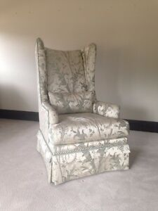 Sherrill Furniture Living Room Chair 1660, Tall Wing Chair, NEVER USED!!