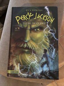 Percy Jackson 01. Diebe im Olymp von Rick Riordan (2010, Gebundene Ausgabe)