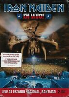 IRON MAIDEN - En Vivo - 2DVD - Limited Steelbook Deluxe - 2012 - Concert Metal