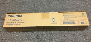 Toshiba GENUINE/ORIGINAL T-FC28 -C CYAN/BLUE Toner Cartridge Copier / T Fc 28d-c