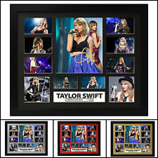 Taylor Swift Signed Framed Memorabilia Limited Edition 2017 - Multiple Variation