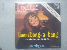 "LULU-Boom Bang-a-Bang 7"" single SUNG IN SPANISH Eurovision"