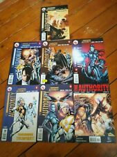 The Authority, Scorched Earth, Vol 2 #0,1, 2, 3, 8, 9,10 DC 2003, Morrison