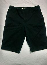 NWOT Sonoma Life Style Women's Cotton Blend Shorts Black Size 4 (1-134)